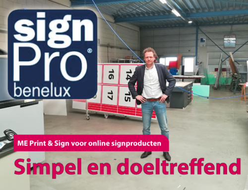 In de media: interview in SignPro Benelux