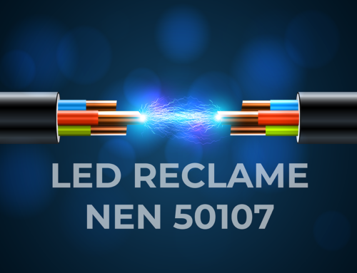 Led reclame volgens NEN 50107-3