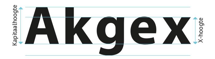 san serif letter