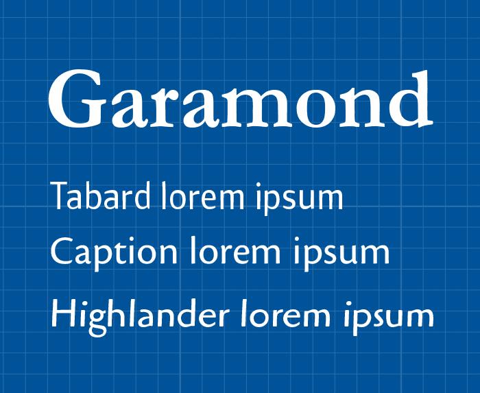 verschillende uitvoeringen binnen een font