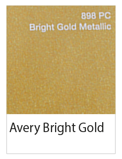 avery bright gold metalliek