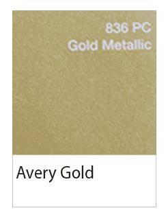 avery gold metalliek