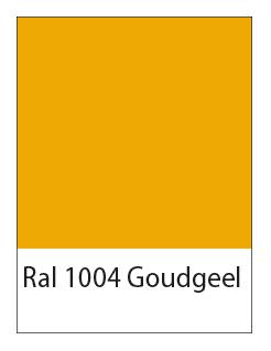 ral 1004 goudgeel